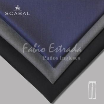 Paño Scabal 01 - Pantalón - Unicolor