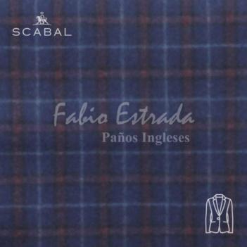 Paño Scabal 03 - Saco Sport - Cuadros