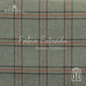 Paño Scabal 10 - Saco Sport - Cuadros